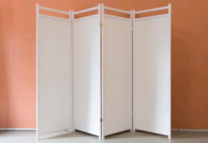 Euro folding room divider/ privacy screen extra large size