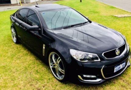 2015 Holden Commodore VF II SS-V Black 6 Speed Manual Sedan
