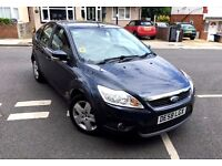 FORD FOCUS 2009 1.8 DIESEL 86K LOW MILEAGE 5 DOOR 1 OWNER HPI CLEAR WARRANTY NOT FIESTA ASTRA GOLF