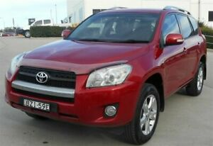 2011 Toyota RAV4 ACA33R MY11 Altitude (4x4) Red 4 Speed Automatic Wagon Singleton Heights Singleton Area Preview