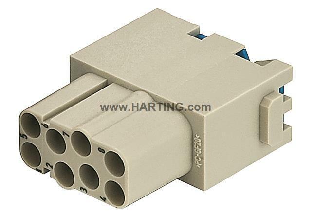 09140082733, Harting, Han Modular Quicklock, Han 8 E