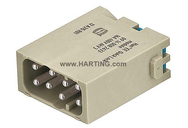 09140082633, Harting, Han Modular Quicklock, Han 8 E