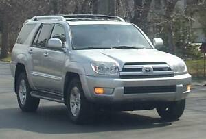 2003 Toyota 4Runner SR5 LIMITED 4.7L V8 RUSTPROOFED FULLY LOADED