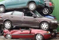 Get ***TOP DOLLARS*** for scrap, unwanted cars. 416-388-5288