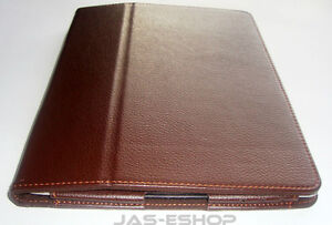 Leather Flip Stand  Cover/Case  for ipad 2,ipad3,ipad4  Very smart Looks (Brown)