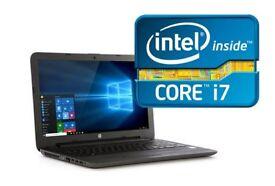Top HP Laptop - Core i7 / 3.1 GHz Turbo Processor / 8GB DDR4 / 256GB SSD
