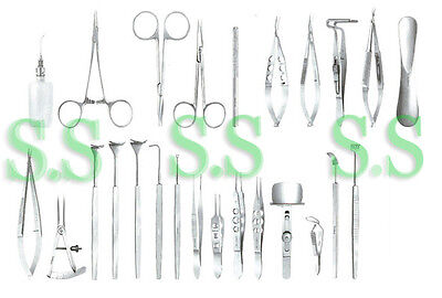 Lid Surgery Set Ophthalmic Medical Surgical Instruments