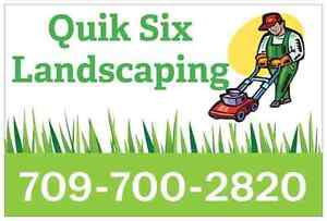 Book your yard work and mowing for the upcoming season!