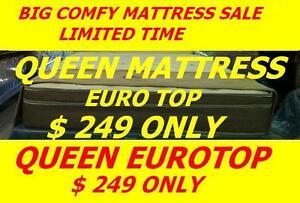 BRAND NEW QUEEN EUROTOP MATTRESS $249,TWIN,DOUBLE AVAILABLE Oakville / Halton Region Toronto (GTA) image 1