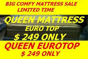 BRAND NEW QUEEN EUROTOP MATTRESS $249,TWIN,DOUBLE AVAILABLE Oakville / Halton Region Toronto (GTA) image 1