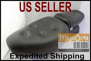 Yamaha Virago XV250 Vstar 250 Complete Seat Set Front & Rear - Synthetic Leather