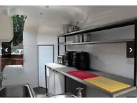 Converted Horse Box Into Mobile Catering Trailer / Mobile Catering Kitchen