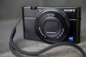 Sony Cyber-shot RX100 20.2MP Digital Camera -