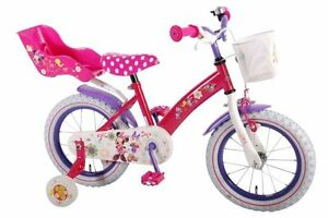 "Minnie Mouse Bike - Rim 14"" for Girl 3-4 years old."