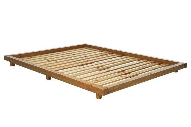 Kingsize Futon Company Platform Bed Frame