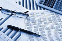 Accounting services -  evenings & weekends