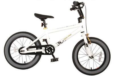 Volare Cool Rider Kinderfahrrad - Jungen - 16 Zoll - Weiß