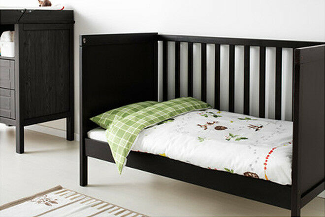 the best attitude 1714f 59bc1 Toddler Bed - Ikea Sundvik Day Bed Grey/Brown