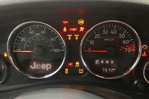 Do you have a dash light on?