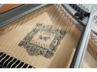FEURICH 162 WHITE BABY GRAND PIANO – DYNAMIC