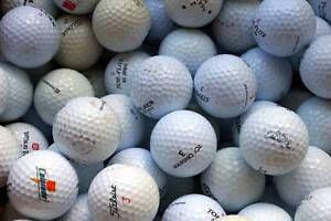 Lightly used golf balls $2 - $15