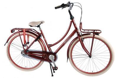 SALUTONI Excellent Adult Bike Frauen 28 Zoll 50 Zentimeter Bordeaux Shimano