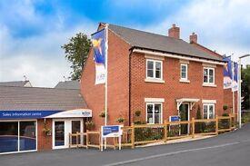 4 Bedroom Brand New Bovis Home, on Woodlands Estate, Dawlish