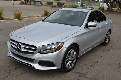 2016 Mercedes Benz C Class Luxury 2016 Mercedes C300  Package 1  Navigation  Back Up Cam  Like New  Low Miles