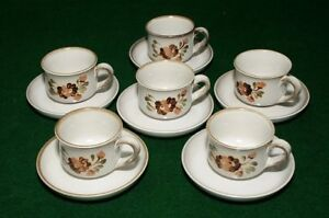 Coffee set for 6 SERENADE DENBY Pottery England