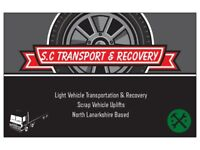 Light vehicle transport & recovery