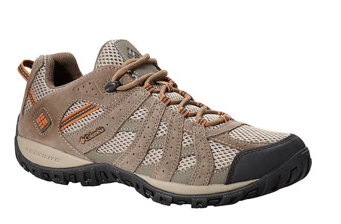 Columbia men's Redmond Waterproof Low Hiking shoe 9.5 pebble