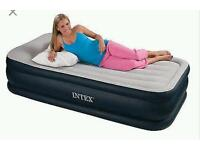 Single air bed with pump Intetex RRP 45