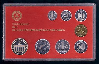 1982 - DDR Kursmünzensatz, polierte Platte