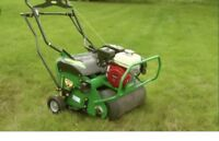 Aeration and dethatching