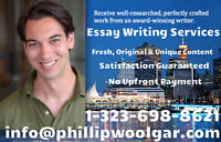 Count On a Professional to Write Your Essay for You