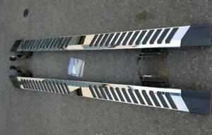 FORD SUPERDUTY CREW CAB BRAND NEW 6 FACTORY STAINLESS STEP BARS