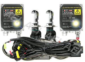 55W H4 BI-XENON HID HI/LO CONVERSION KIT 4300K 6000K