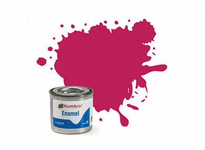 Pintura Enamel Sunset Red Metalico 51 Humbrol A0552 14ml