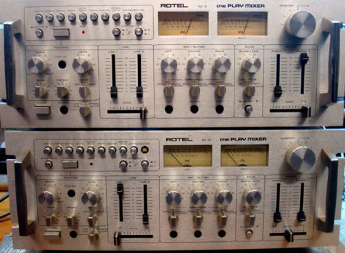 Rotel RZ-8 Play Mixers -  RARE  ITEMS - 2 of Them