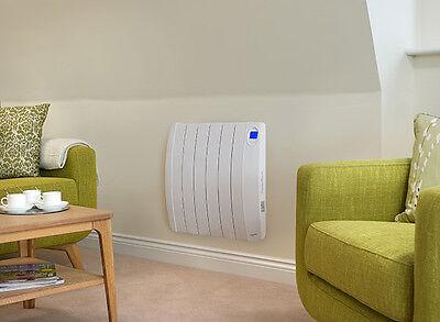 Ultra Slimline Electric Radiator shown in a sitting room