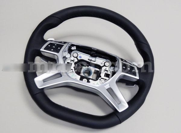 Mercedes G-wagon Genuine W463 Amg G500 G550 G63 Leather Steering Wheel New