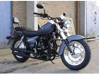 *Brand New* 66 plate Motorini Bomber 125cc. Warranty, Free delivery, Part-Ex 08-12