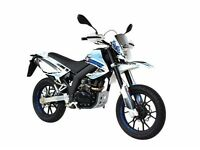Motorini SMR 125, Enduro crosser supermoto style motorbike Brand New. Finance options available