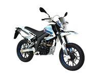 *Brand New* 66 plate Motorini SMR 125cc. Warranty, Free delivery, Part-Ex