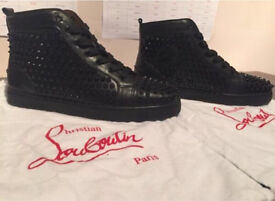 Christian Louboutin Louis Calf Spikes Size 7 UK / 41 EU
