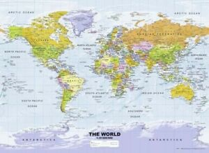 Ravensburger Political World Map - 500pc Jigsaw Puzzle