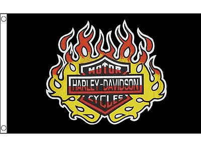 Harley Davidson Flag 5 x 3 FT - USA United States America Motorcycle