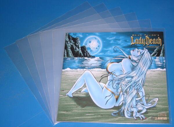 100 LP Cover Schutzhüllen 12