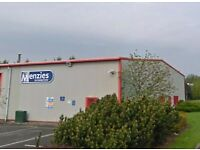 TO LET NEW WAREHOUSE INDUSTRIAL UNITS WORKSHOP PREMISES STORAGE FLEXIBLE SIZE - DUMFRIES £157 PW