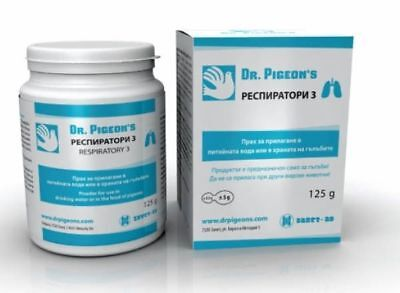 RESPIRATORY 3 Efficient products for healthy and strong pigeons Dr. Pigeions